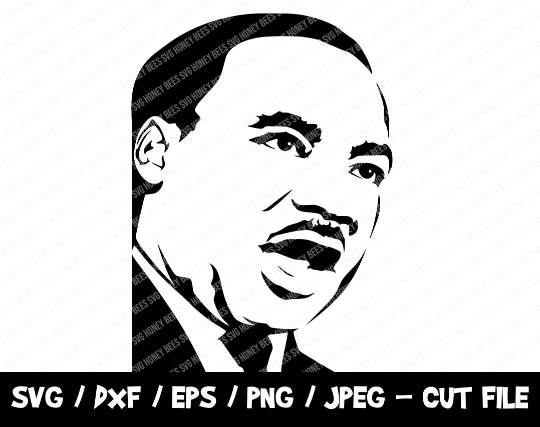 Martin Luther King SVG, BLM SVG Cut File, Mlk Svg, No Justice No Peace Svg,