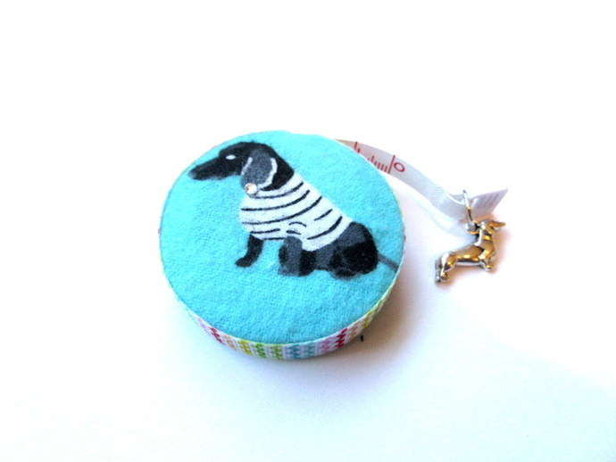 Measuring Tape Sweater Dachshunds Small Retractable Tape Measure