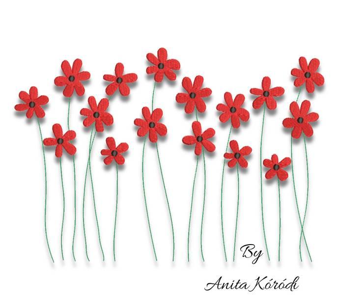 Flower machine embroidery design floral pes spring designs instant digital