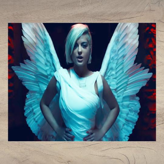Watercolor - Watercolor Bebe Rexha - Bebe Rexha - Last Hurrah - Angel Wings -