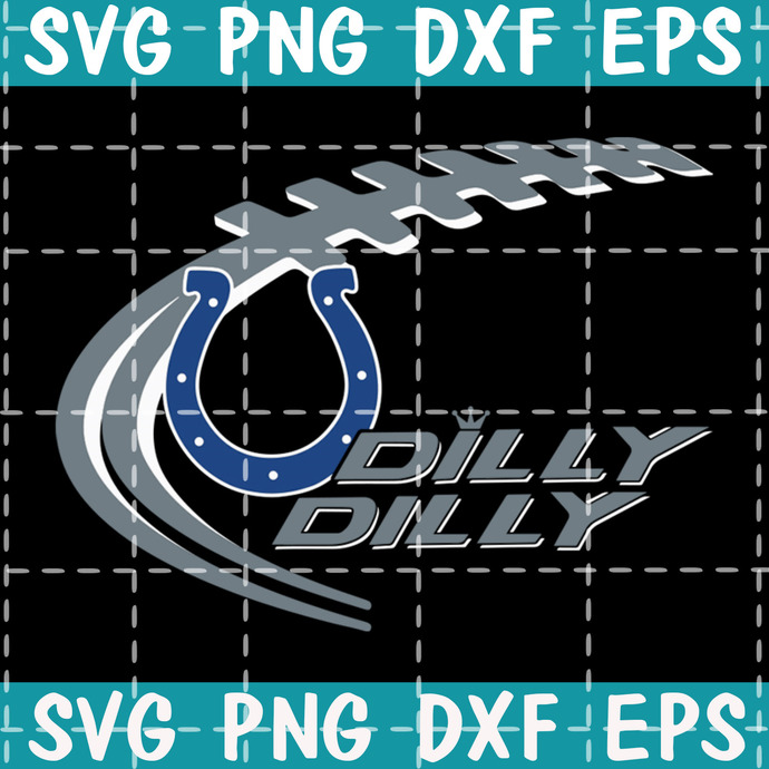 Colts dily dilly svgNFL Svg, NFL Team Svg, Football Svg, American Football Svg
