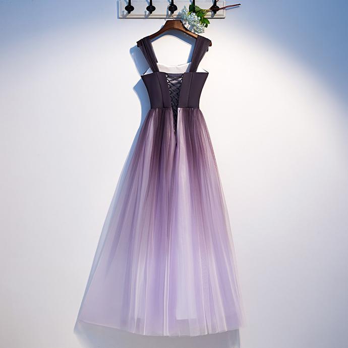 Charming Prom Dress,O-Neck Prom Dress,Chiffon Prom Dress,A-Line Prom Dr,Long