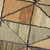 Handmade antique square American hooked rug 2' x 2.1' ( 61cm x 64cm ) 1880s -