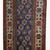 Handmade antique Caucasian Gendje rug 3.2' x 8' ( 97cm x 244cm ) 1880 - 1B522