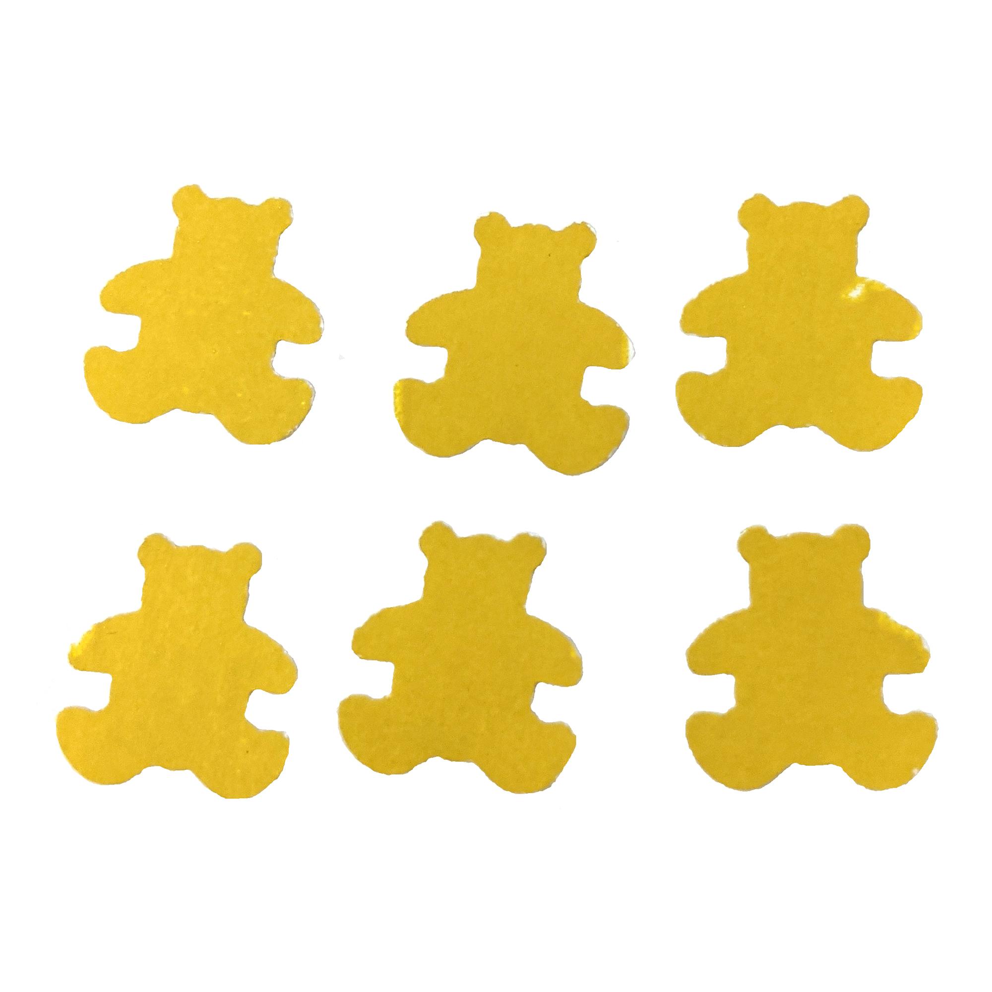 Yellow Wallpaper Bear Die Cuts