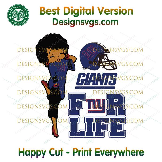 New York Giants For Life Svg, Sport Svg, New York Giants, Giants Svg, Giants