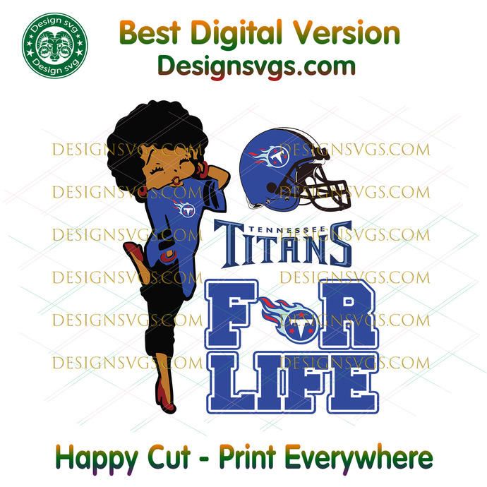 Tennessee Titans For Life Svg, Sport Svg, Tennessee Titans, Titans Svg, Titans