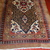 Handmade antique Persian Camel Hair runner 4' x 15.2' (122cm x 463cm) 1880s -