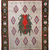 Handmade vintage Scandinavian pile rug 4.7' x 6.4' ( 143cm x 195cm ) 1950s -