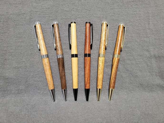 Hand Made Trimline Wooden Pen