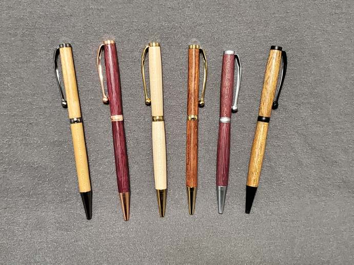 Hand Made Slim Wooden Pen
