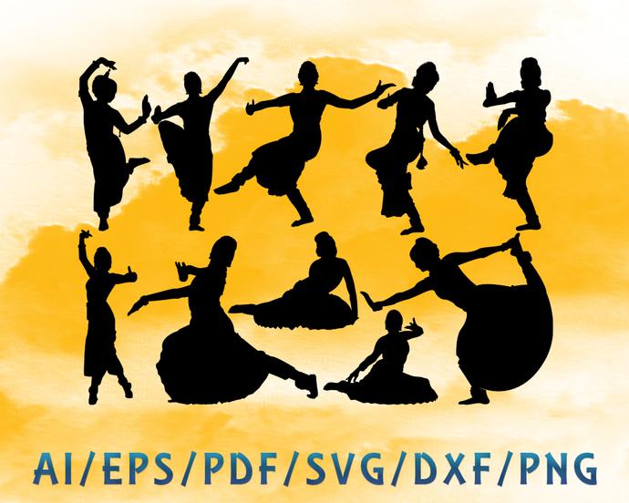 Bharatanatyam dance step