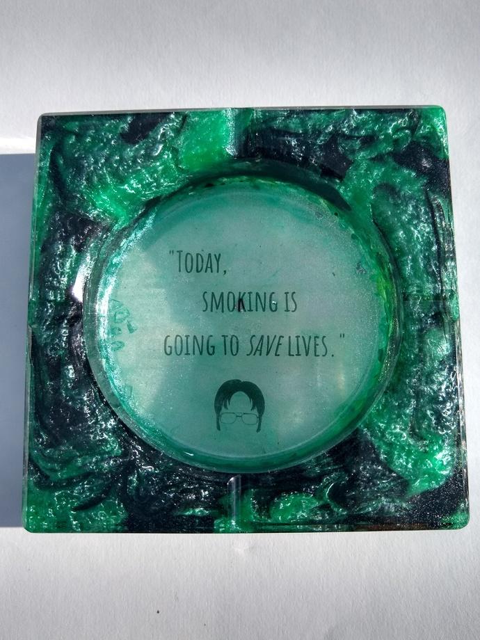 Custom ashtray
