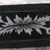 Antique Black Glass with Inlay