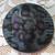 Antique Black Glass Imitation Fabric Button