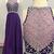 Classic A Line Jewel Illusion Back Beaded Long Chiffon Prom/Evening Dresses
