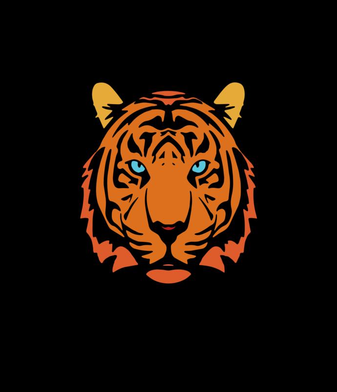Tiger Svg, Tiger vector, Tiger png, Tiger design, Face Tiger Svg, Face Tiger