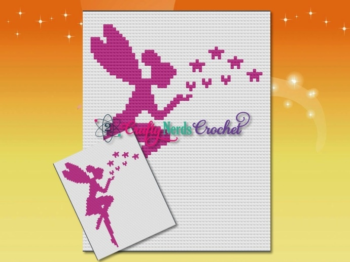 Fairy Wishes Pattern Graph With C2C Written