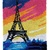 Paris Sunset Rug Latch Hooking (58x87cm)