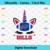 Buffalo Bills Unicorn Svg, Sport Svg, Football Svg, Football Teams Svg, NFL Svg,