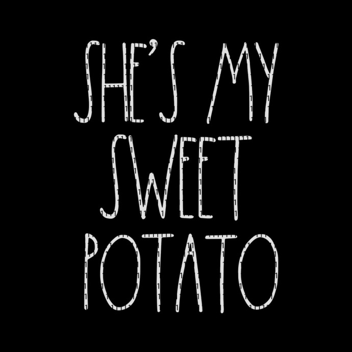 She's My Sweet Potato I Yam, She's My Sweet Potato I Yam SVG, She's My Sweet