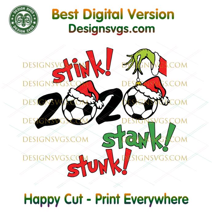 Stink Stank Stunk 2020 Football Svg, Christmas Svg, Xmas Svg, Merry Christmas,