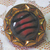"""Moonglow Black Glass Striped 11/16"""""""