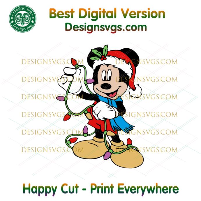 Christmas Disney Minnie Mouse Svg, Christmas Svg, Xmas Svg, Christmas Gift,
