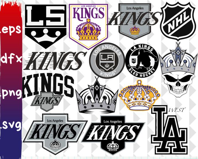 Los Angeles Kings, Los Angeles Kings svg, Los Angeles Kings clipart, Los Angeles