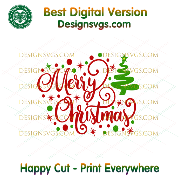 Merry Christmas Svg, Christmas Svg, Xmas Svg, Christmas Gift, Merry Christmas,