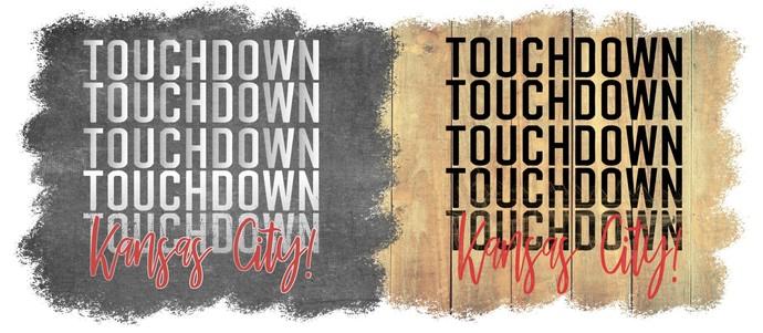 Touchdown, Kansas City  tie-dye lips, KC Football, NFL, Football, glitter lips,