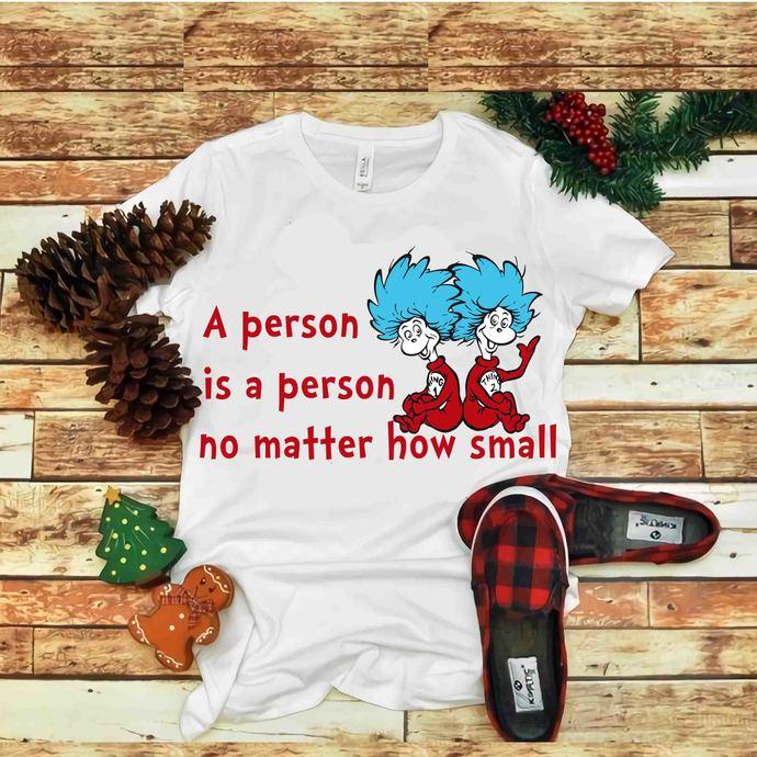 A person is a person no matter how small svg, Dr seuss vector, Dr Seus Svg, Cat