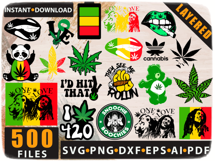 Bundle 100 Weed Cannabis bundle Weed Quotes SVG Bundle Weed SVG Bundle Marijuana