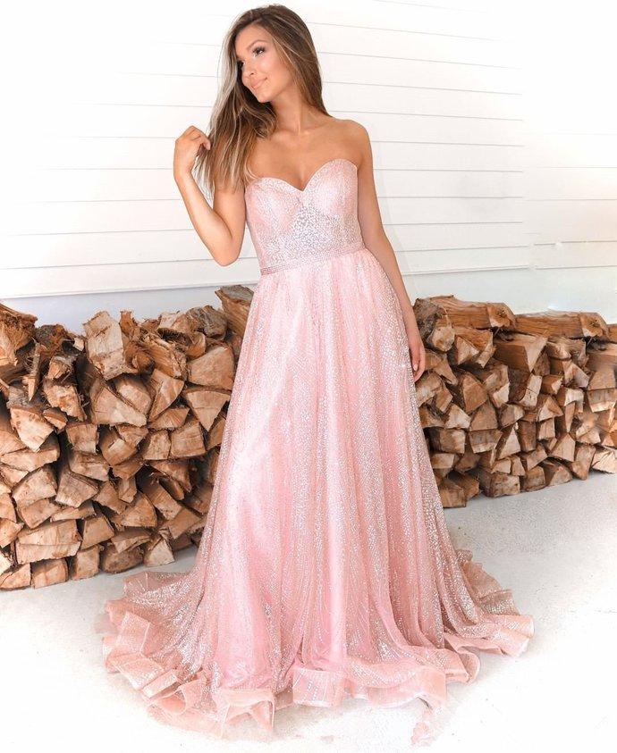 Sparkly Prom Dresses, Long Prom Dress, Prom dress ,DR1962