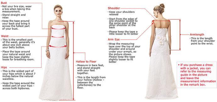 V-Neck Prom Dresses, Real Made Formal Prom Dress With Slit,DR1975