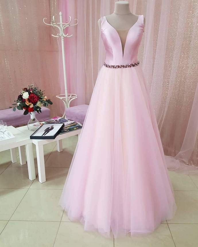 Real Made Prom Dresses,A-Line Charming Formal Prom Dress,DR1979