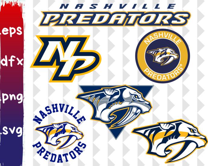 Nashville Predators, Nashville Predators svg, Nashville Predators clipart,