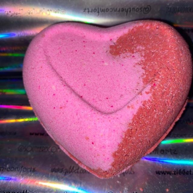 Love Spell Heart Bath Bomb (Large 7 oz)