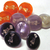 10 Vintage Plastic Holly Hobby Buttons
