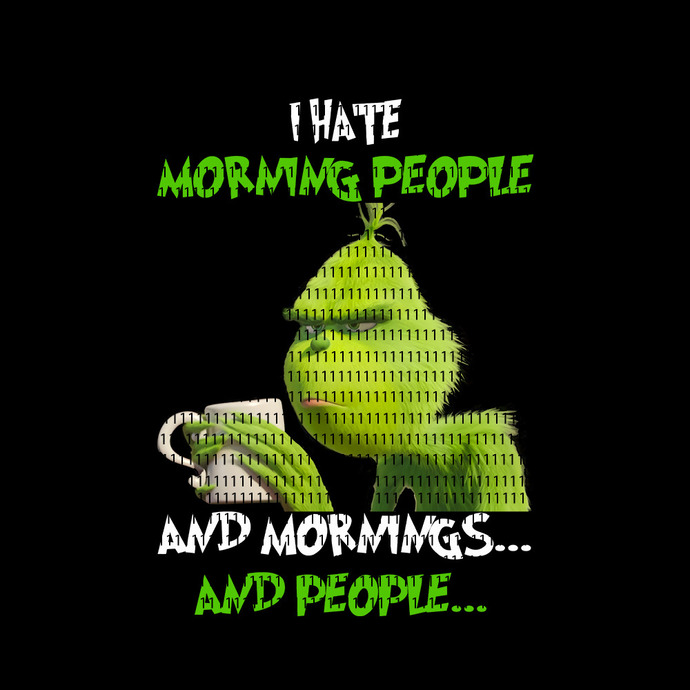I hate morning people and mornings and people png,I hate morning people and