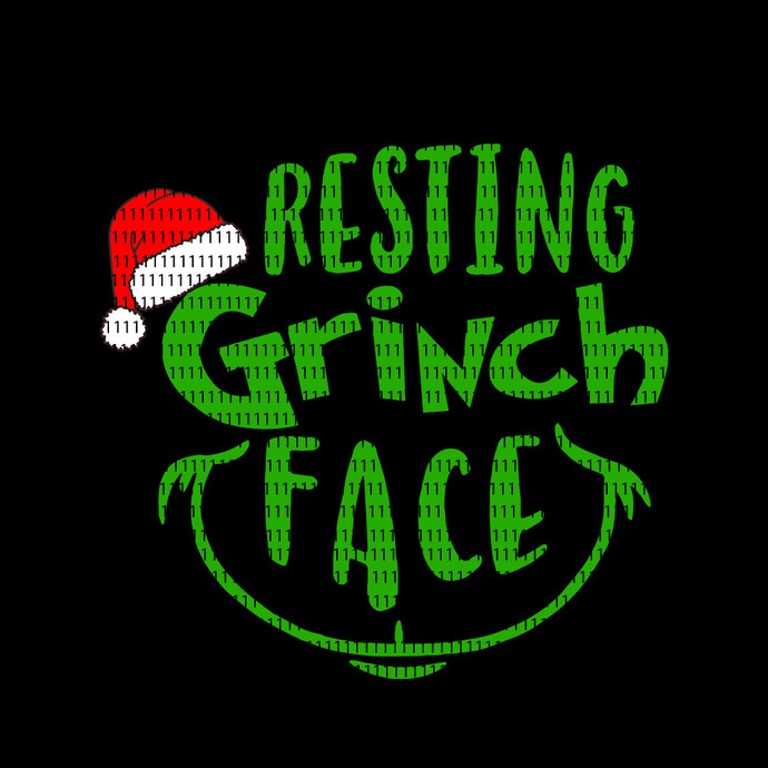 Resting grinch face svg, Resting grinch face png, Resting grinch face, Resting