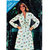 Butterick See & Sew 3196 Misses Flared Dress 80s Vintage Sewing Pattern Uncut