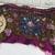 T21 Vintage Beaded Boho Trim Piece, Junk Journal Embellishments, Beaded scraps,