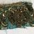 T22 Vintage Beaded Boho Trim Piece, Junk Journal Embellishments, Beaded scraps,