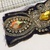 L23A Vintage Beaded Boho Piece, Junk Journal Embellishments, Beaded scraps, Sari