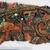 L29A Vintage Beaded Boho Piece, Junk Journal Embellishments, Beaded scraps, Sari
