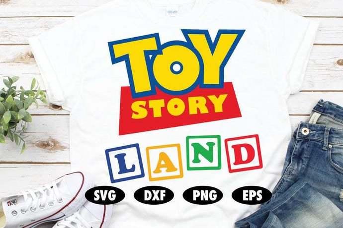 Toy Story Land SVG, Woody svg, Buzz lightyear svg, Funny svg, Toy Story SVG,