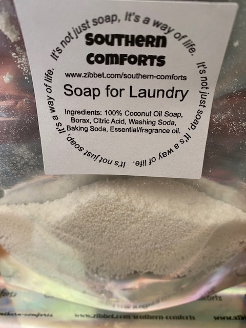 Soap for your Laundry (Sample) Snow Day (no borax)