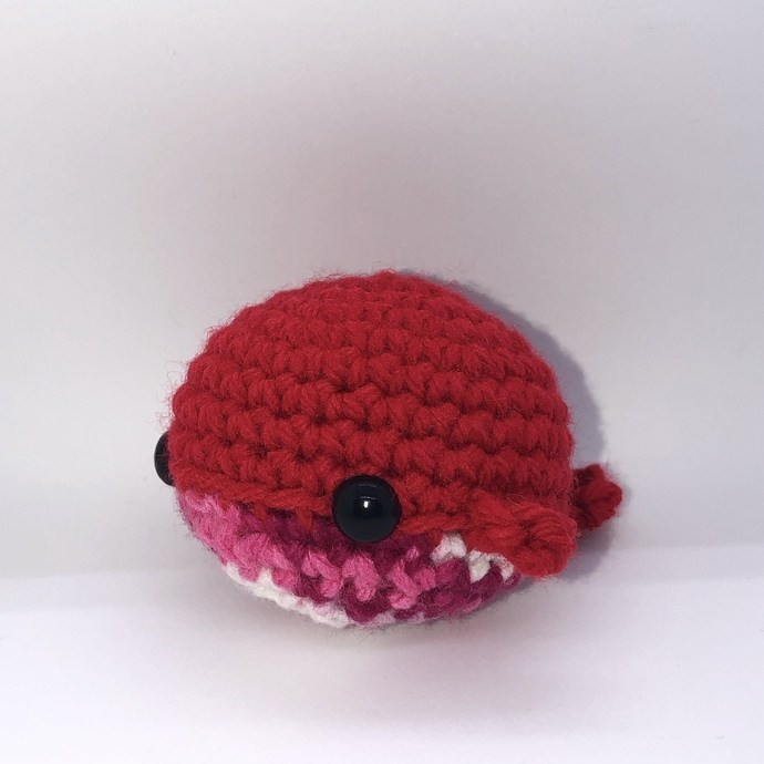Red Whale Amigurumi