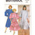 Butterick 3111 Misses Very Loose Dress 80s Vintage Sewing Pattern Size 16, 18,